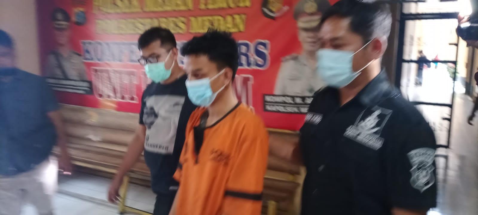 2 Pencuri Kotak Infak di Masjid Jami Medan Diringkus