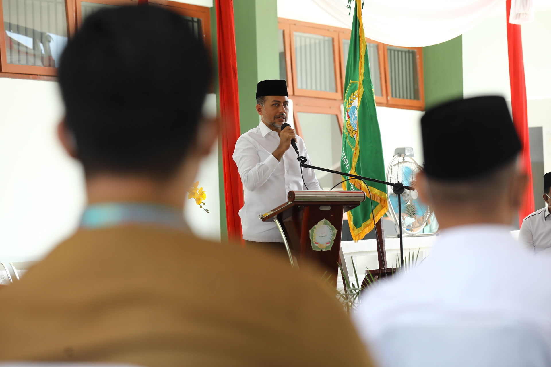 Wagub Musa Rajekshah Resmikan Klinik Ulul Albab UINSU