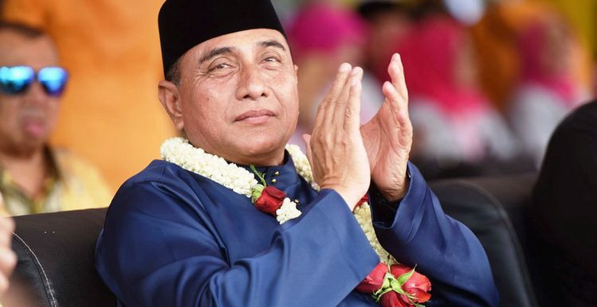 Gubernur Sumut Edy Rahmayadi dinobatkan sebagai TOP Pembina Badan Usaha Milik Daerah (BUMD) Awards