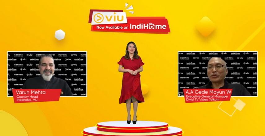 IndiHome dan Viu resmi menghadirkan tayangan hiburan Korea dan Asia terbaik di IndiHome TV mulai hari ini.