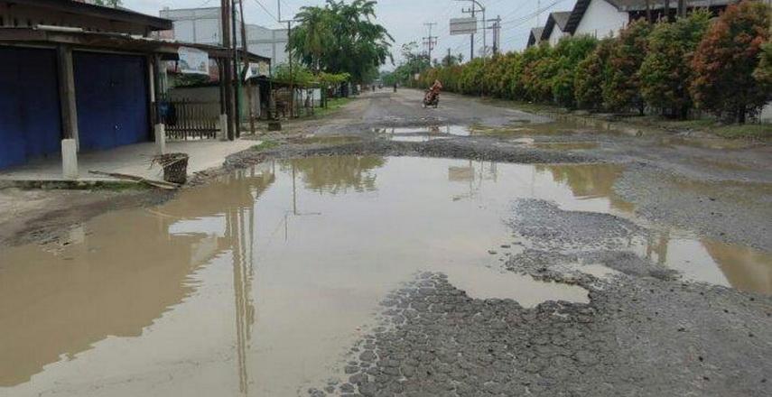 Jalan Provinsi yang Rusak akan Diperbaiki
