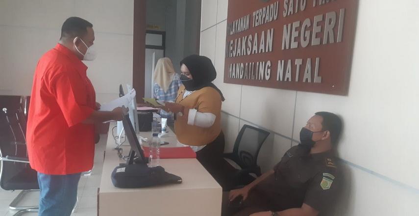 DPD PSI Madina Laporkan Dugaan Pungli 10 Juta per Kepala Desa ke Kejari Madina