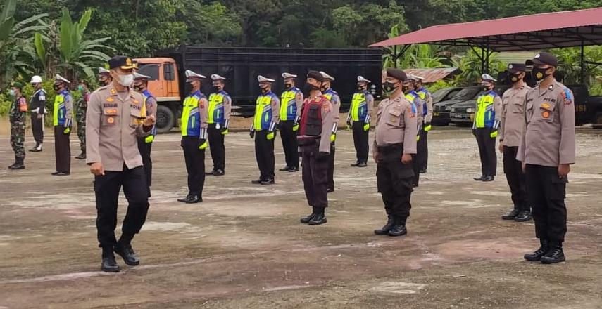 Polres Madina Gelar Apel Pasukan Operasi Patuh Toba 2021