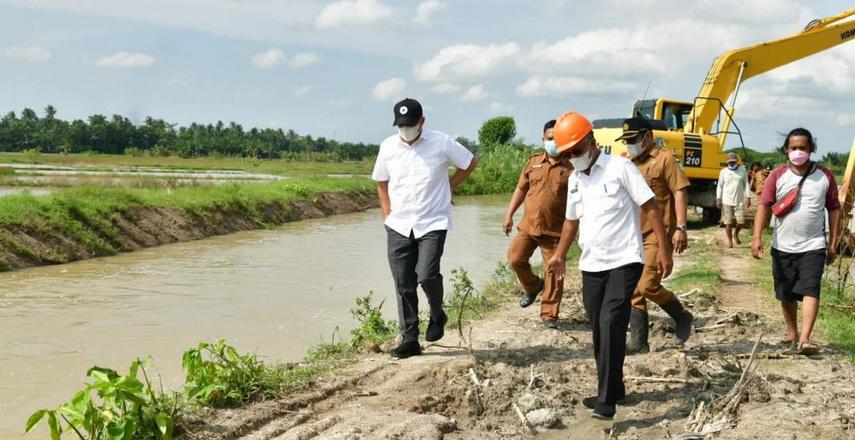 Bupati Batubara Minta Petani Segera Bentuk Perkumpulan Petani Pemakai Air (P3A)