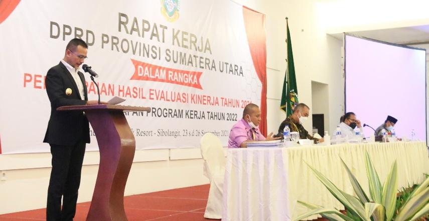 Raker DPRD Sumut Diharapkan Hasilkan Ranja 2022 Wujudkan Sumut Bermartabat