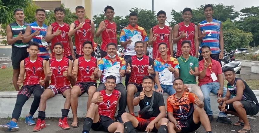 Tim Voli Putra Aceh Singkil Lolos Masuk Pora 2022 di Kabupaten Pidie