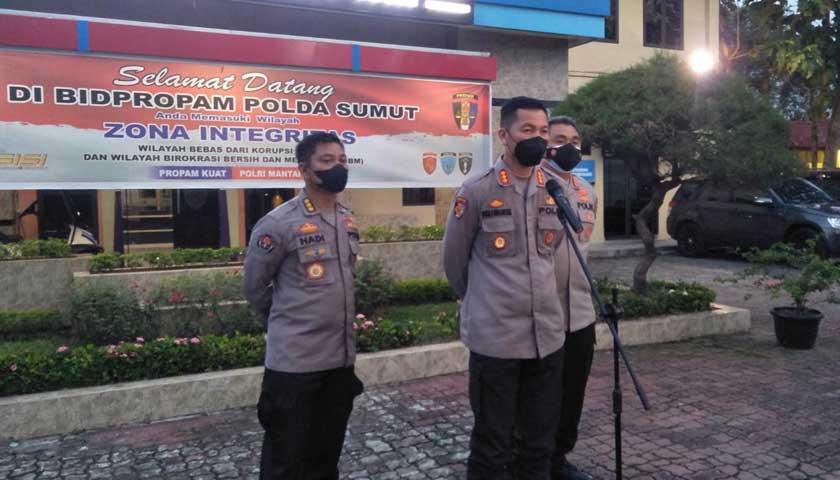 personel Polsek Kutalimbaru