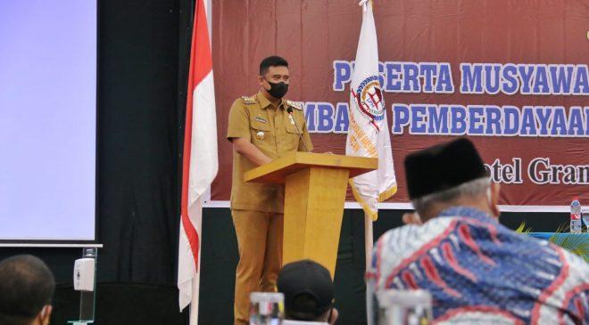 Wali Kota Medan Harapkan LPM Kota Medan Dapat Menjadi Mitra Pemko Medan