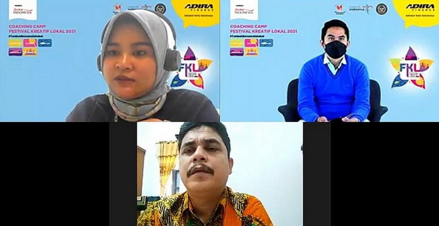 Festival Kreatif Lokal 2021 Semangat Tumbuh 9 UKM Local Hero di DSP Danau Toba
