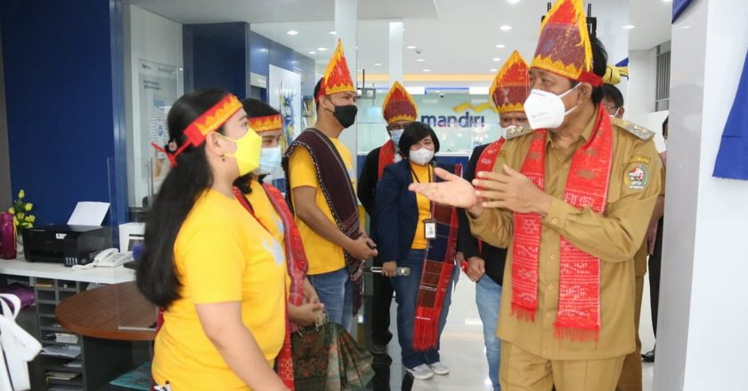 Grand Opening KCP Bank Mandiri
