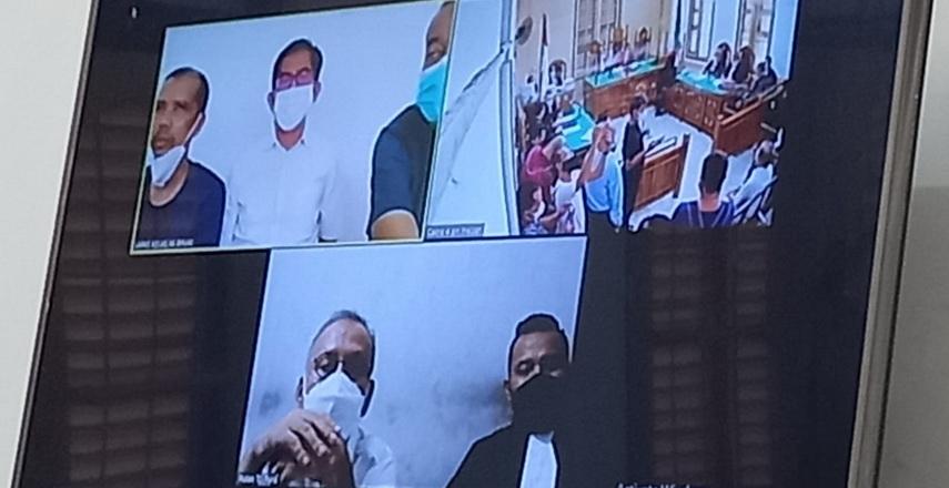 Korupsi Rehab Jalan di Langkat, Mantan Kadis Bina Marga Sumut, KPA dan 2 Staf Jalani Sidang Perdana