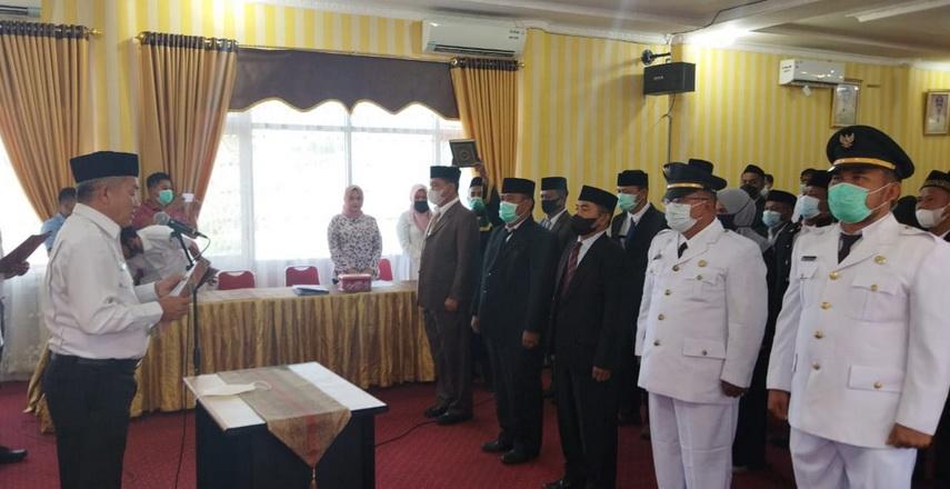 Pemkab Aceh Singkil melalui BKPSDM kembali melakukan rotasi terhadap puluhan Aparatur Sipil Negara (ASN),