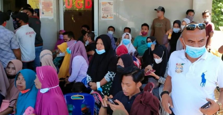 Ratusan Warga di Kecamatan Binjai Ikuti Vaksinasi Massal