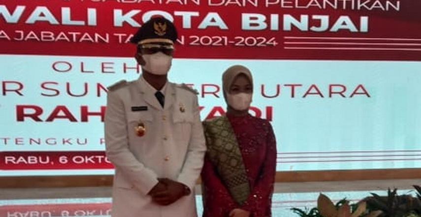 Rizky Yunanda Sitepu Resmi Jabat Wakil Wali Kota Binjai